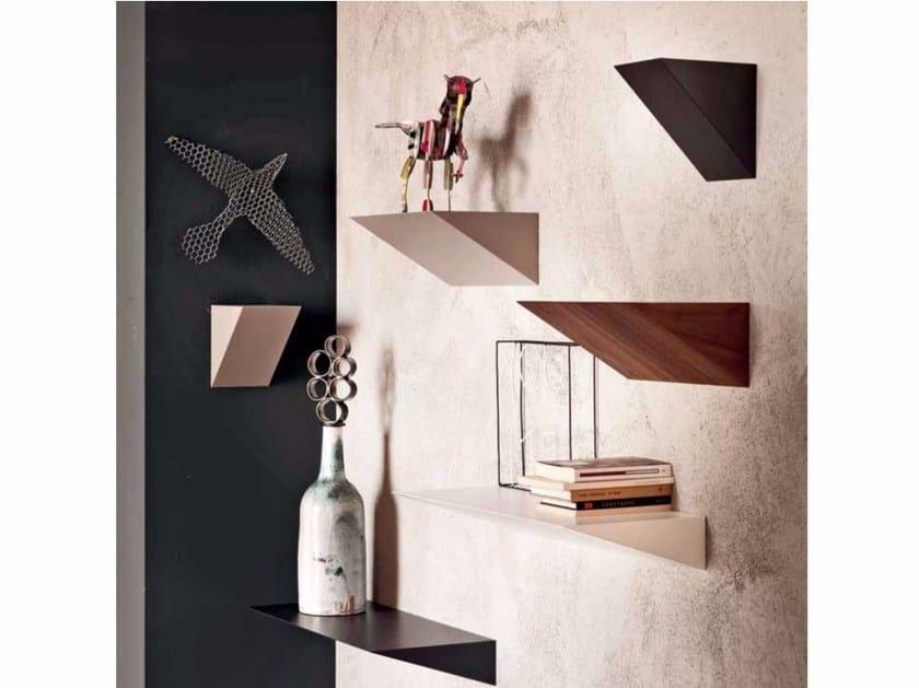 Wooden wall shelf PENDOLA by Cattelan Italia