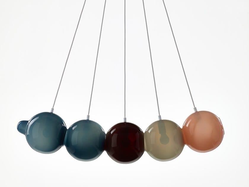 A In Sospensione Cristallo Pendulum Lampada Bomma Y6gvbf7Iy