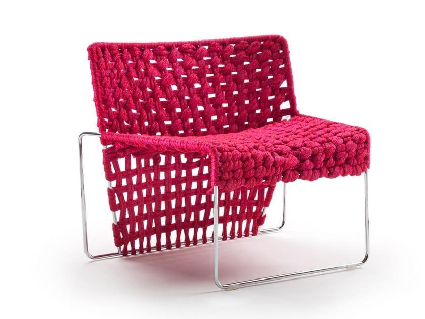 Rope easy chair PENELOPE by Marac