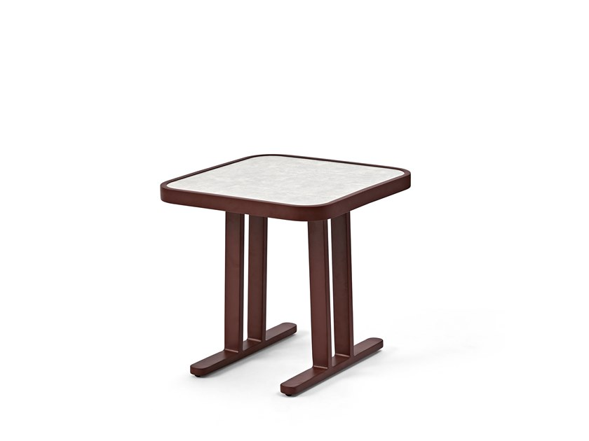 Square side table PENGUIN | Square coffee table by Kun Design