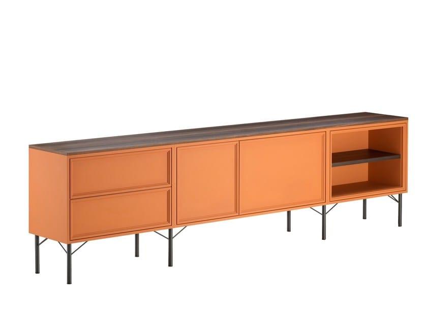 Modular lacquered sideboard PENINSULA | Modular sideboard by L'Origine