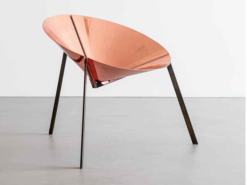Sedia in metallo PENSANDO AD ACAPULCO by DE CASTELLI