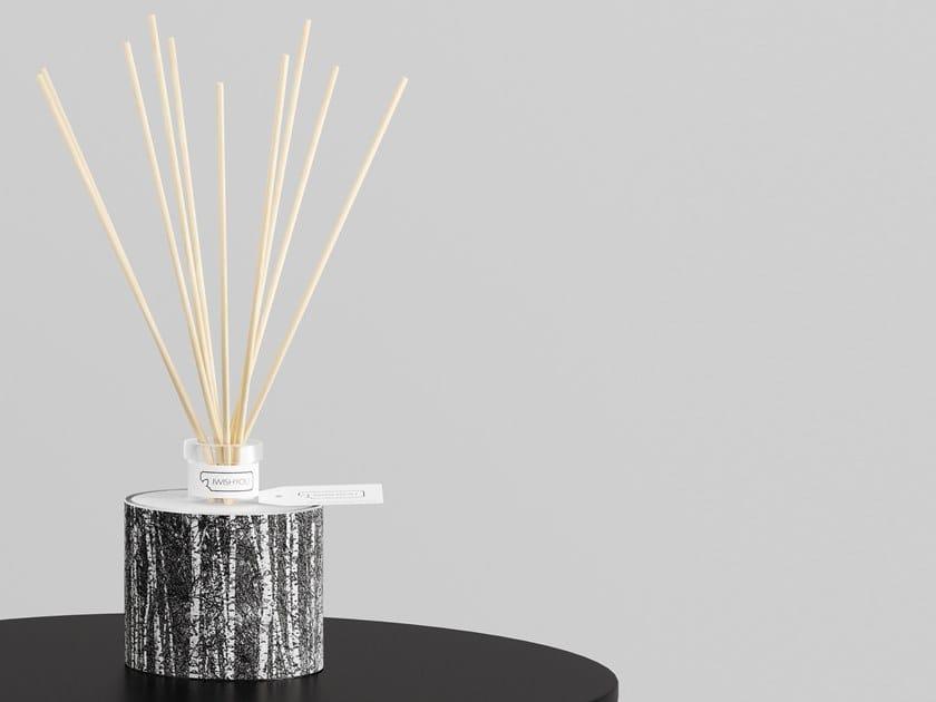 Natural stone Air freshener dispenser PENUMBRA Prestige - Uva e Mirtilli by IWISHYOU