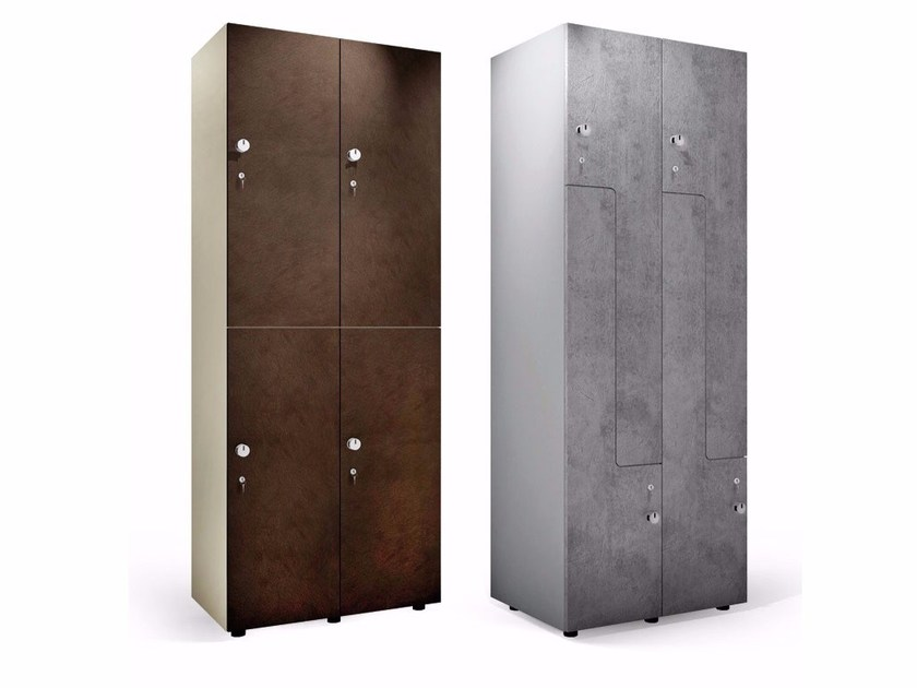 Wooden Locker PEOPLE by FIT INTERIORS