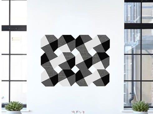 Decorative acoustic panel PEPITE by Slalom