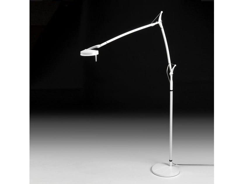 Lampada da terra a LED con braccio flessibile PERCEVAL LED 6338 | Lampada da terra by Milan Iluminacion