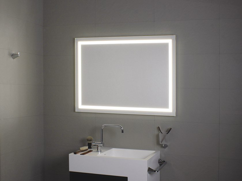 Bathroom mirror with integrated lighting PERIMETRALE LED by KOH-I-NOOR
