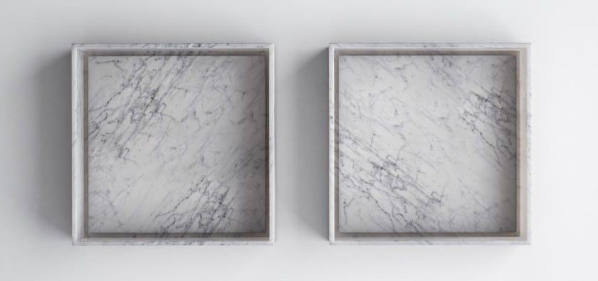 PERMANO | Lavabo in marmo di Carrara