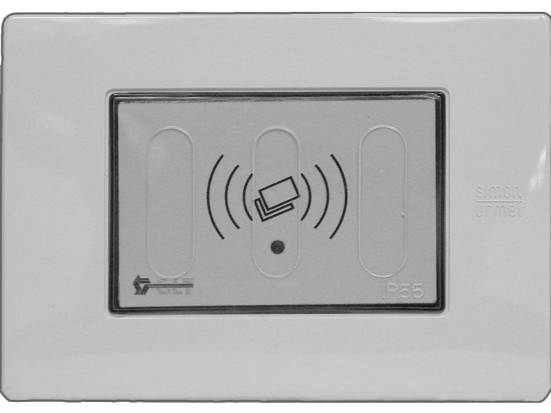 Electronic card lock for hotels PERSEO 1048/114B by GLT