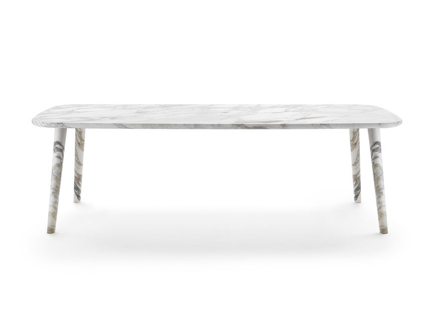 Marble table PERSEO by Mood by Flexform