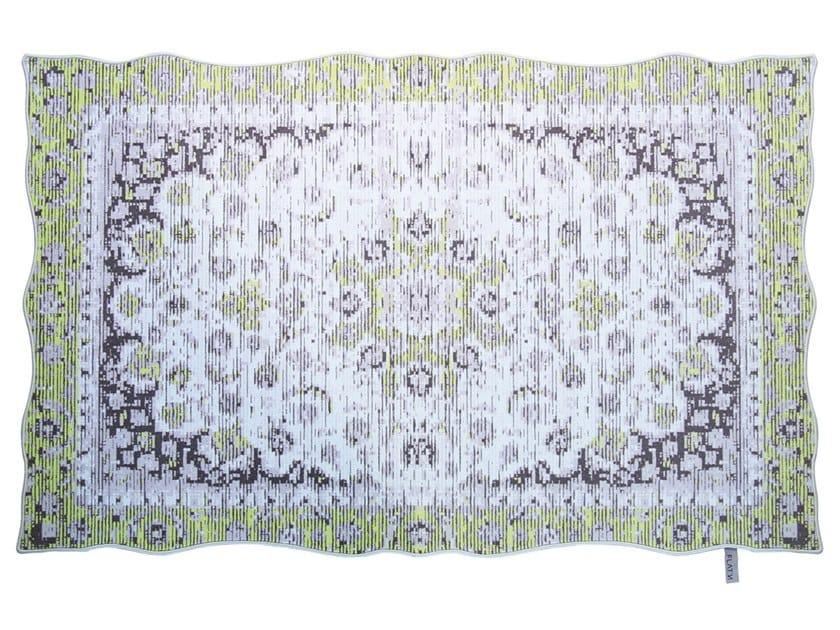 Wool rug PERSIA 001 by FLAT'N