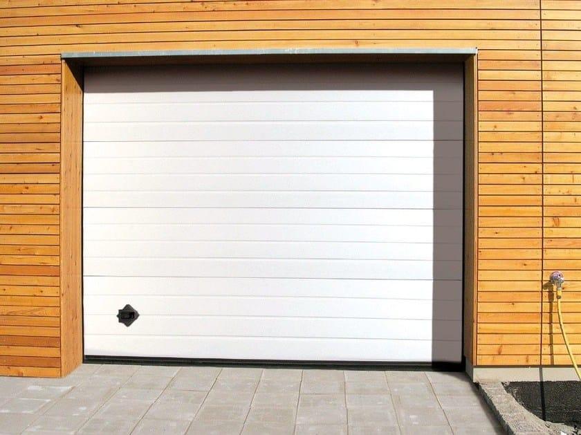 Galvanized steel garage door PERSUS by Breda