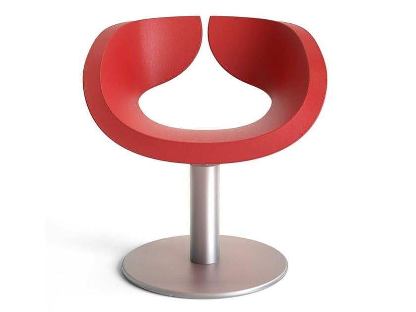 Hairdresser chair PETAL by Gamma & Bross