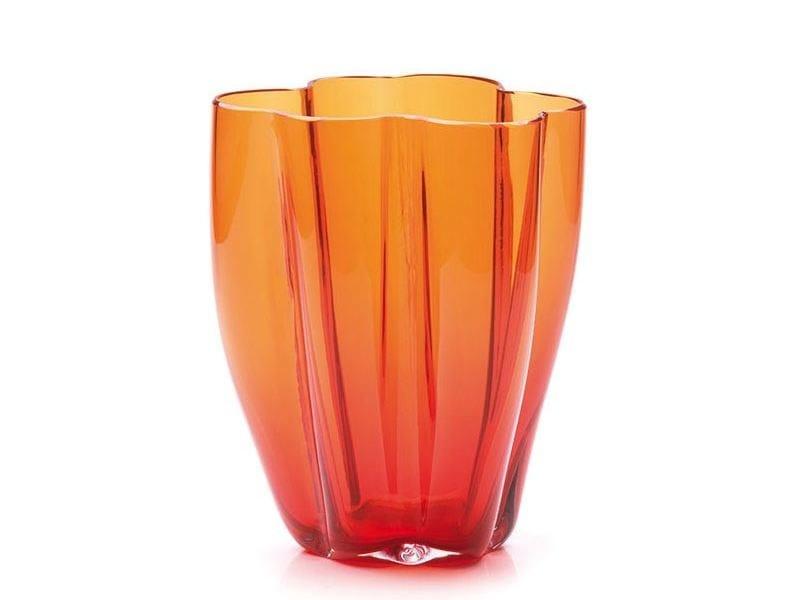Murano glass vase PETALO 6 by Purho