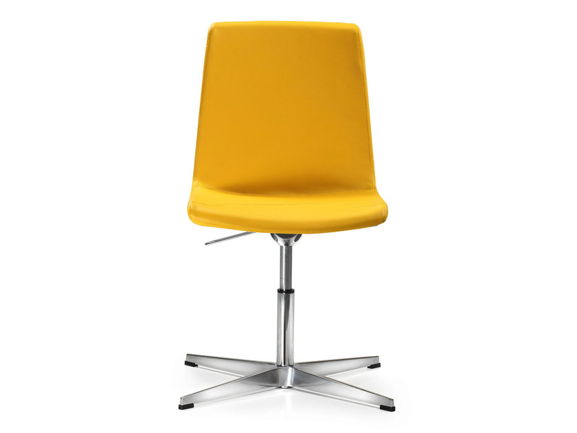 Swivel reception chair with 4-spoke base PETIT AMELIE | Reception chair by Quinti Sedute