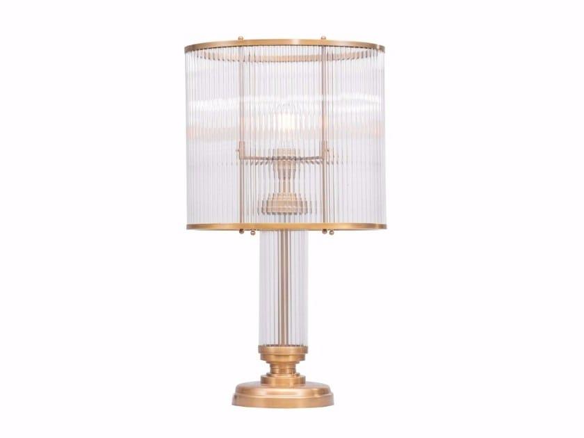 Direct light handmade brass table lamp PETITOT I | Table lamp by Patinas Lighting