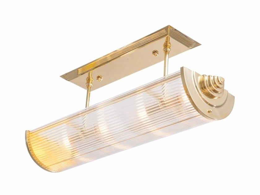 Direct light handmade brass ceiling lamp PETITOT III | Ceiling lamp by Patinas Lighting