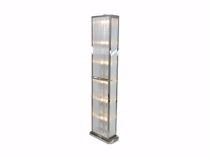 Direct light handmade brass floor lamp PETITOT III | Floor lamp by Patinas Lighting