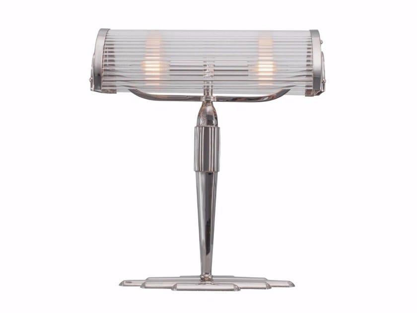 Lampada da tavolo a luce diretta fatta a mano in ottone PETITOT VI | Lampada da tavolo by Patinas Lighting