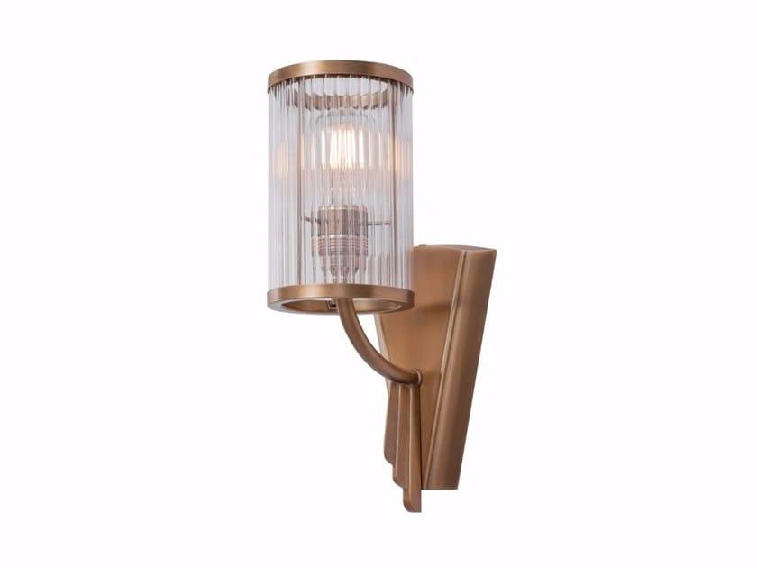 Lampada da parete a luce diretta fatta a mano in ottone PETITOT VIII | Lampada da parete by Patinas Lighting