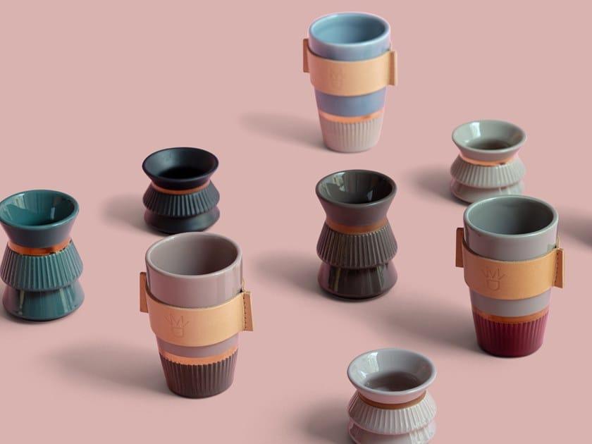 Ceramic vase PETITS SIGNES by La Manufacture du Design