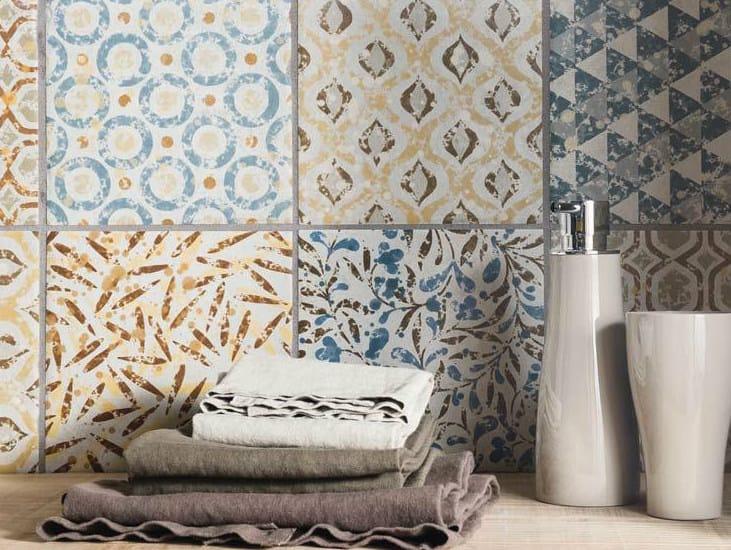 Porcelain stoneware wall tiles / flooring PETRA SOLIS DECORS by Panaria Ceramica