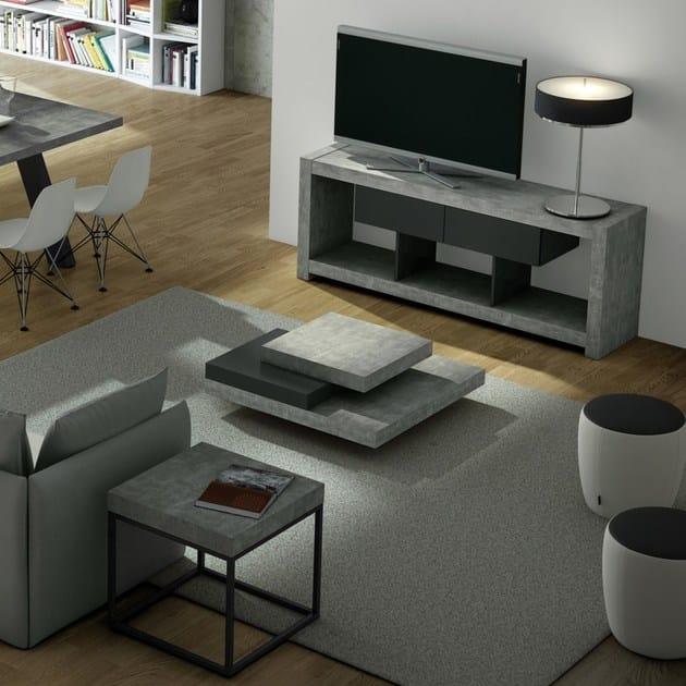 Petra tavolino quadrato by temahome design in s martinho - Architetto prato ...
