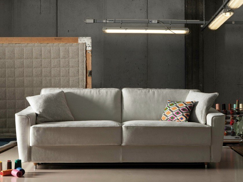 Fabric sofa bed PETRUCCIANI by Milano Bedding