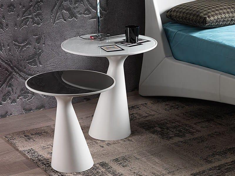 Round crystal coffee table PEYOTE by Cattelan Italia