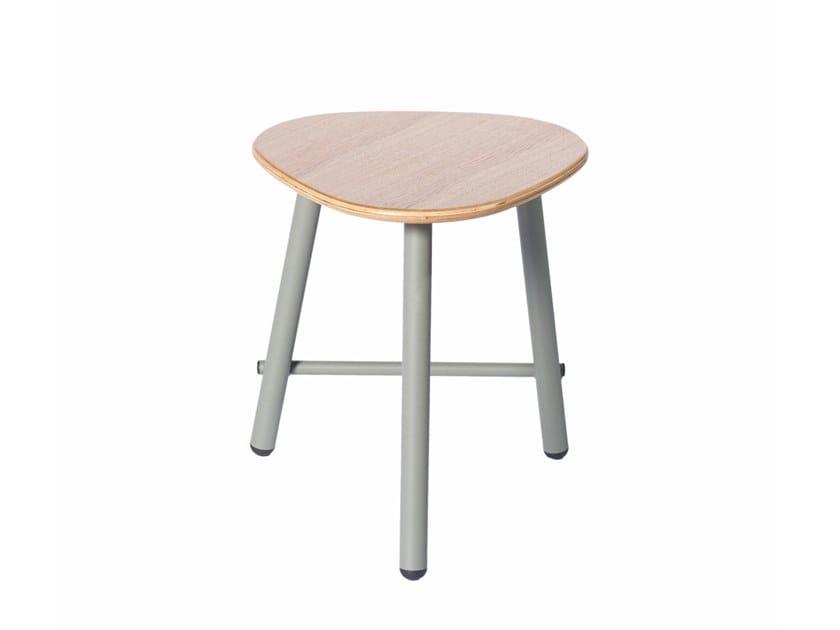 Low metal stool PG 10450500   Low stool by Punto Design