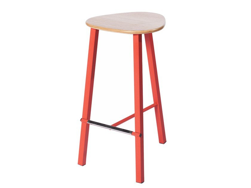 Barstool with footrest PG 10750510 | Stool by Punto Design