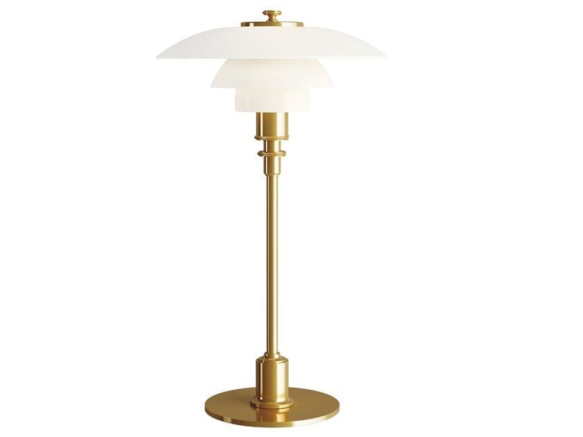 Opal glass table lamp PH 2/1   Table lamp by Louis Poulsen