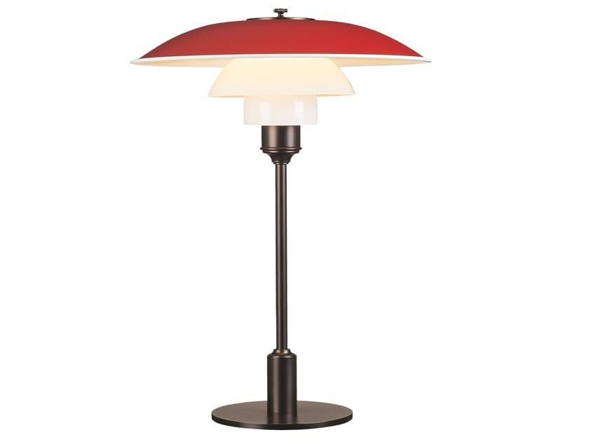Opal glass table lamp PH 3½-2½ | Table lamp by Louis Poulsen