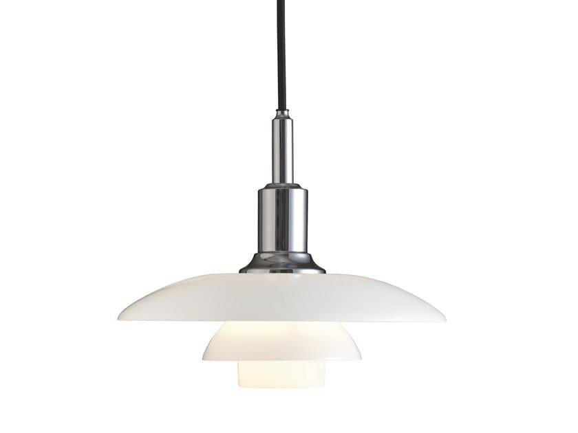 Opal glass pendant lamp PH 3/2   Pendant lamp by Louis Poulsen