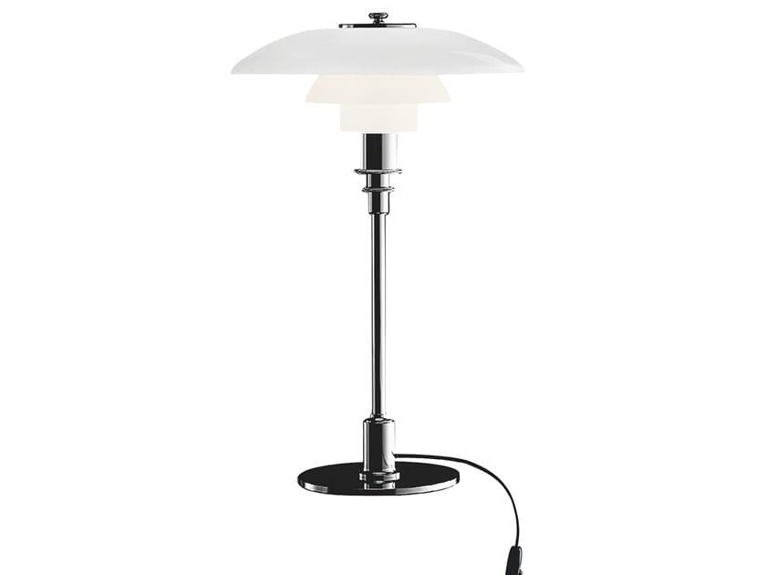 Opal glass table lamp PH 3/2 | Table lamp by Louis Poulsen