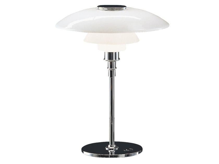 Opal glass table lamp PH 4½-3½ | Table lamp by Louis Poulsen