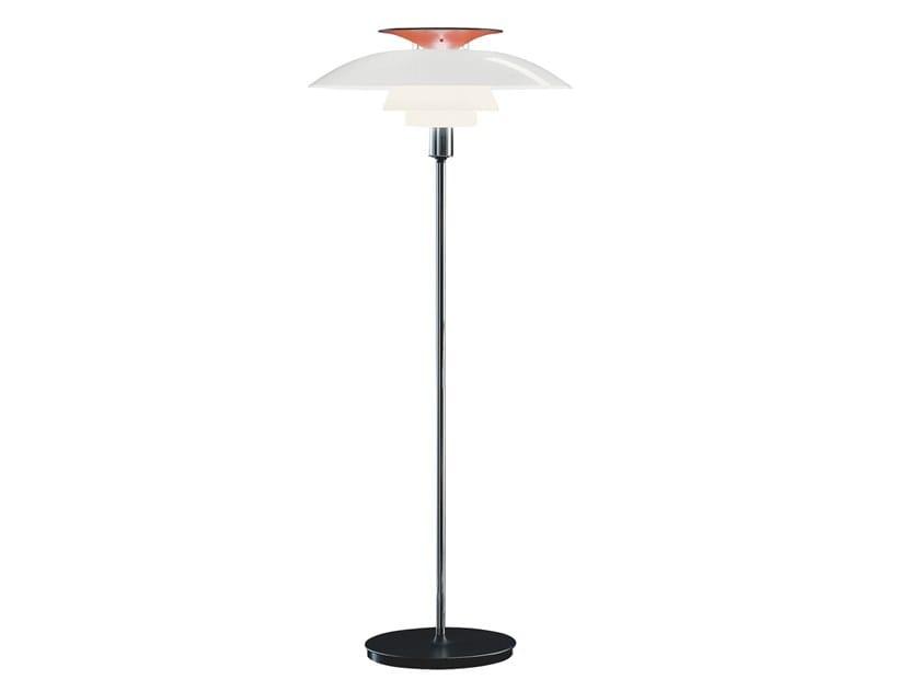 Acrylic glass floor lamp PH 80 | Floor lamp by Louis Poulsen