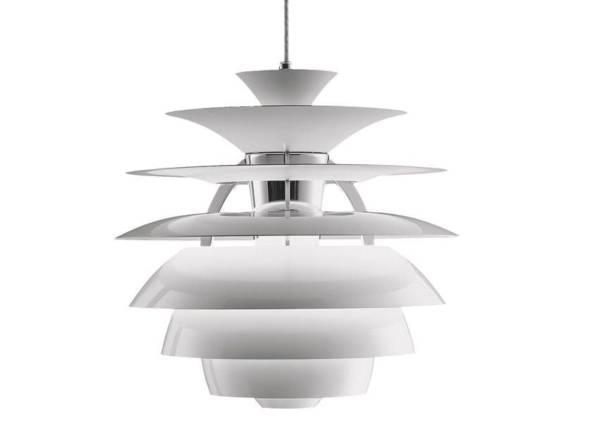 Direct-indirect light aluminium pendant lamp PH SNOWBALL | Pendant lamp by Louis Poulsen