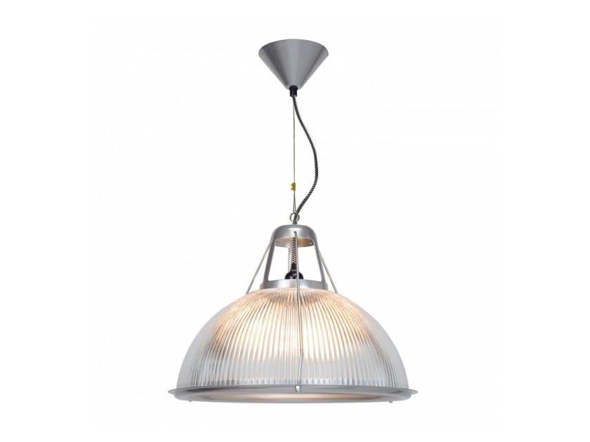 Lampada a sospensione a luce indiretta in vetro PHANE LARGE PRISMATIC by Original BTC