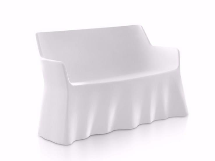 Polyethylene sofa PHANTOM 2 by DOMITALIA