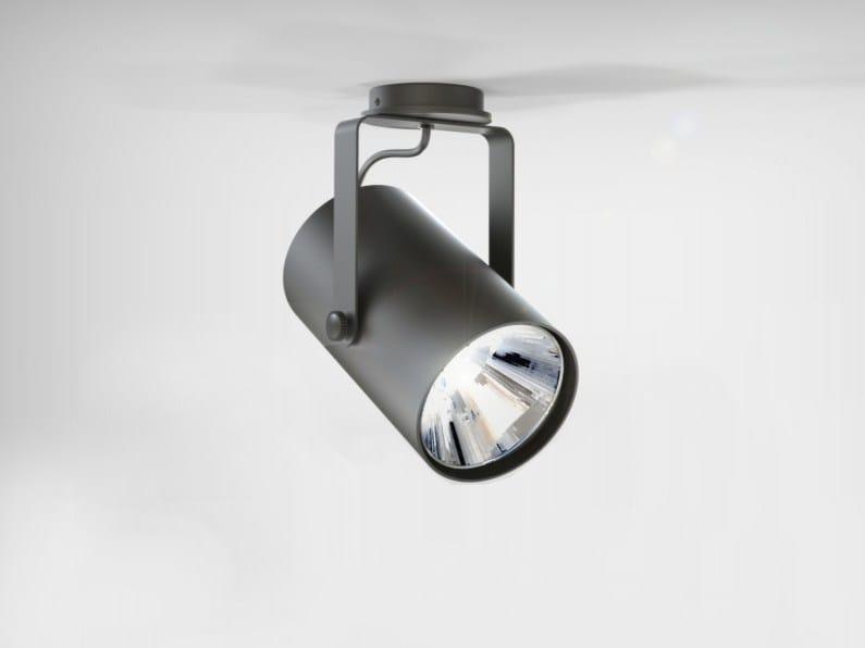 Faretto a LED orientabile in alluminio estruso con dimmer PHAR | Faretto by LUCIFERO'S