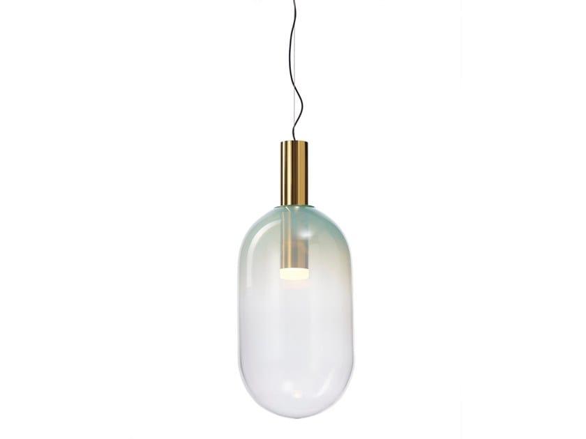 Blown glass pendant lamp PHENOMENA | Blown glass pendant lamp by BOMMA