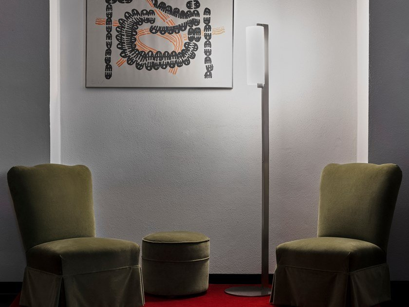 Lampada da terra a LED in alluminio PHI | Lampada da terra by Firmamento Milano