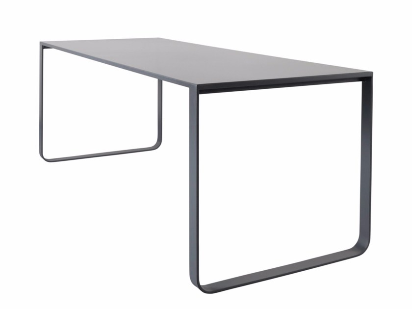 Rectangular steel table PHILEAS by AZEA
