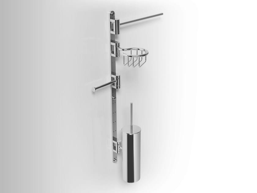 Towel rack/Soap dish/ Toilet brush PHLOX | Towel rack by Alna