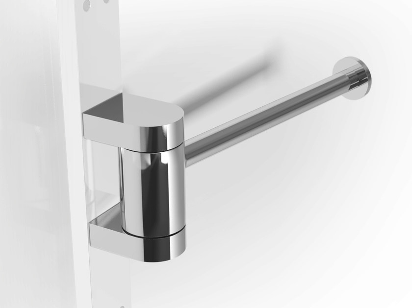 Metal toilet roll holder PHLOX | Toilet roll holder by Alna