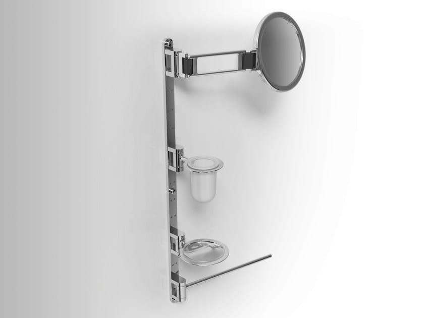 Towel rack/Soap dish/Toothbrush holder/ Shaving mirror PHLOX   Soap dish by Alna