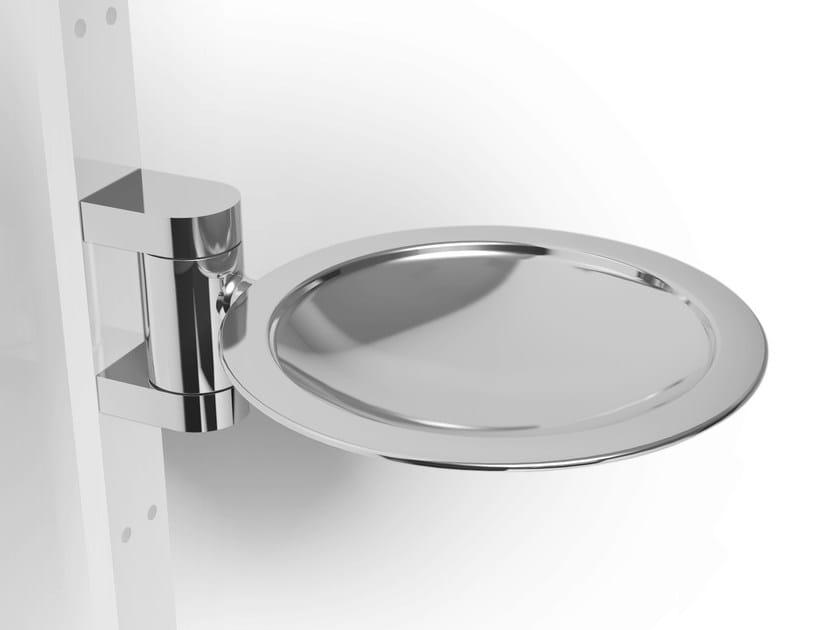Wall-mounted metal soap dish PHLOX | Metal soap dish by Alna