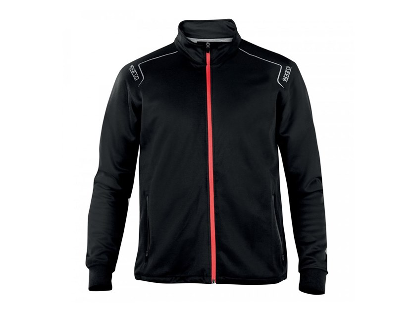 PHOENIX - FELPA FULL-ZIP - NERO
