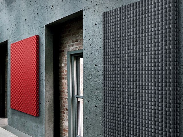 Synthetic fibre Decorative acoustic panel PHONOLOOK 3D by ETERNO IVICA